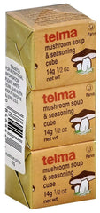 Telma, Mushroom Soup and Seasoning Cube, 3 cubes of 0.5 Ounce. - MakoletOnline