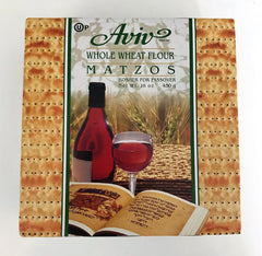 Aviv Matzos, Whole Wheat (Kosher for Passover) (16oz)