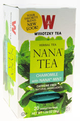 Wissotzky NANA TEA -  Chamomile With Nana Mint / Box of 20 bags - MakoletOnline