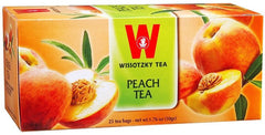 Wissotzky Tea Peach Tea /Box of 25 bags - MakoletOnline