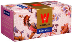 Wissotzky Tea Rose Chai / Box Of 25 Bags - MakoletOnline