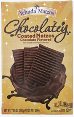 Yehuda Chocolatey Coated Matzos - MakoletOnline