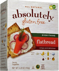Absolutely - Gluten free Flatbread, Everything, 5.29 Ounces. - MakoletOnline