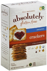 Absolutely - Gluten free Crackers, original, 4.4 Ounces. - MakoletOnline