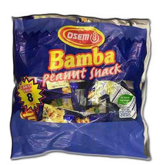 Osem - Bamba Family Pack, 8 Snacks, Peanut Flavored