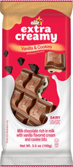 Elite - Extra Creamy Milk Chocolate Bar, Vanilla & Cookies