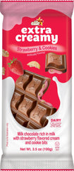 Elite - Extra Creamy Milk Chocolate Bar w/ Strawberry Cream & Cookies