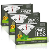 Snack Less - Chewing Gum, Mint (3 pack)