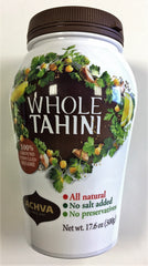 Achva - 100% Natural Whole Sesame Tahini Paste.