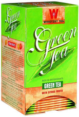 Wissotzky Tea Green Tea with Citrus Fruits box of 20 tea bags - MakoletOnline