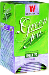 Wissotzky Tea Jasmine Green Tea / Box of 20 tea bags - MakoletOnline