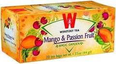 Wissotzky Tea Mango & Passion Tea Fruit / Box of 20 bags - MakoletOnline