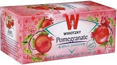 Wissotzky Tea Pomegranate Tea / Box of 20 bags - MakoletOnline