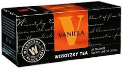 Wissotzky Tea Vanilla Tea / Box Of 20 Bags - MakoletOnline