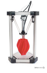 DeltaMaker 2: An Elegant 3D Printer