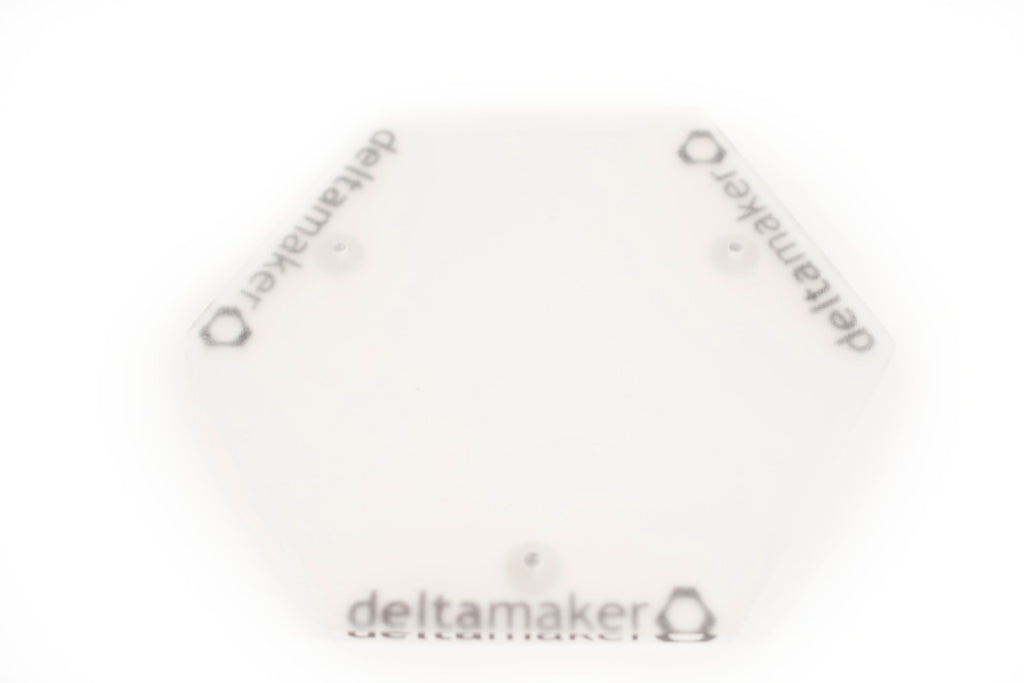 DeltaMaker Acrylic Build Plate