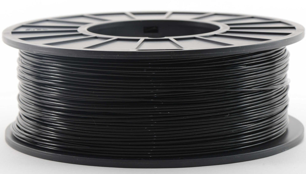 Black PLA Filament, 1.75mm, 1kg