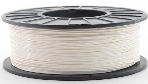 Pearl White PLA Filament, 1.75mm, 5lb/2.3k Large Spool | NatureWorks Ingeo 3D850 PLA