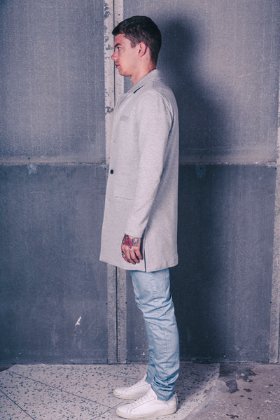 Cotton Trench / Grey