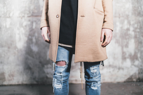 Camel Trench Jacket