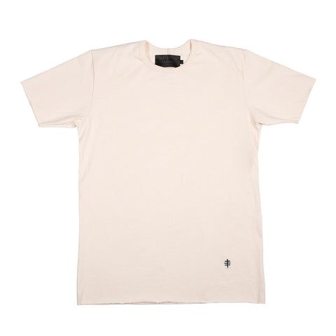 Cream / Black Benchmark Tee