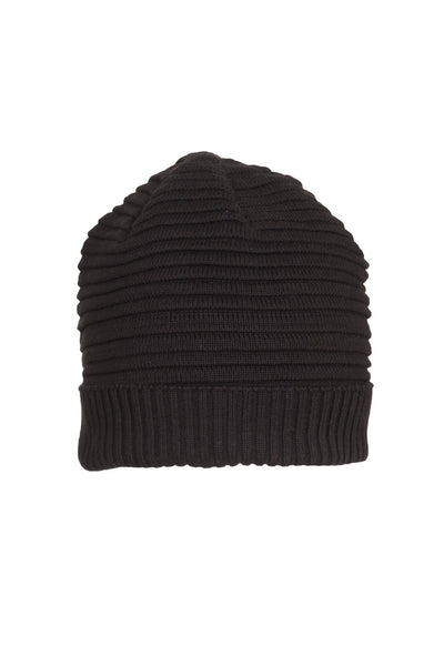 IRREGULAR STRIPE COTTON BEANIE