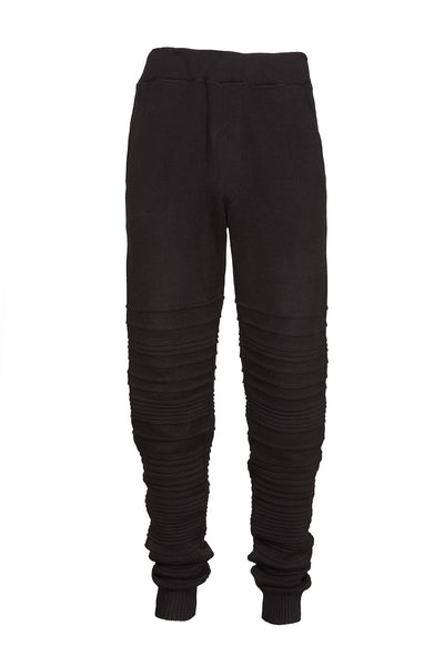IRREGULAR STRIPE COTTON SWEATS