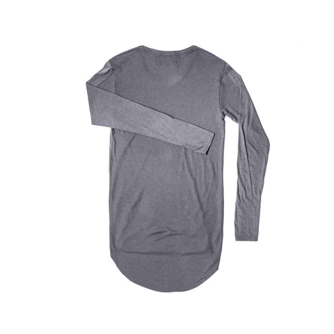 DARK GREY 2 TEXTURE LONG SLEEVE