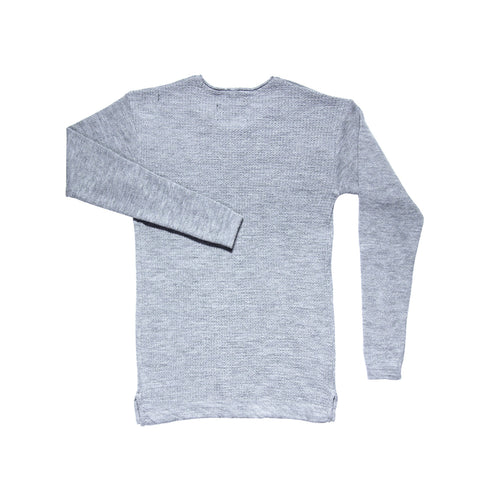 MERINO HEAVYWEIGHT CREWNECK GREY