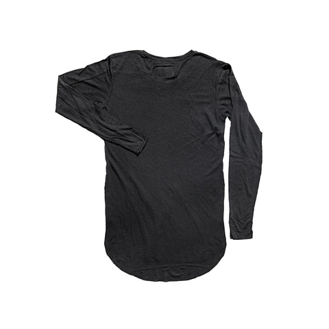BLACK 2 TEXTURE LONG SLEEVE