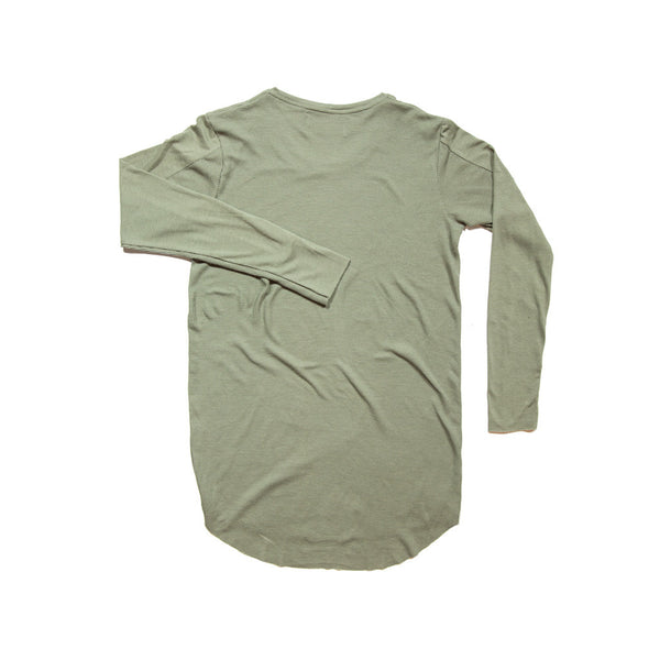 OLIVE 2 TEXTURE LONG SLEEVE