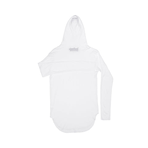 HOODED THERMAL / WHITE