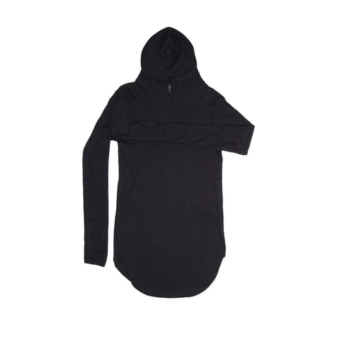 HOODED THERMAL / BLACK