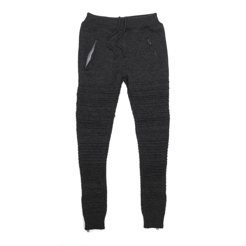 MERINO WOOL IRREGULAR STRIPE SWEATS