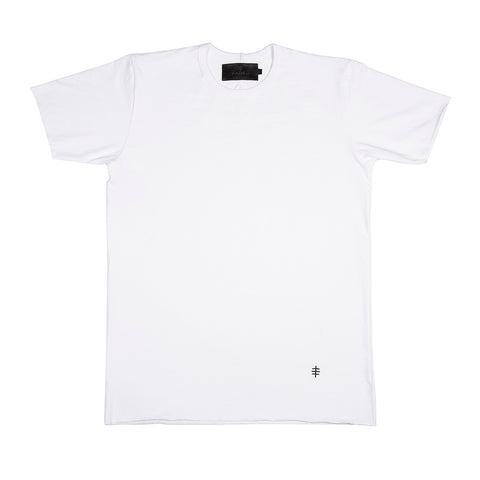 White / Black Benchmark Tee