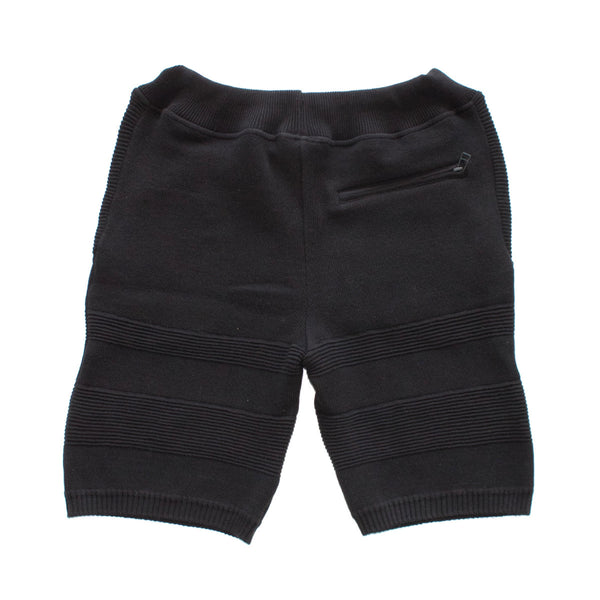 PIQUE COTTON KNIT SHORTS