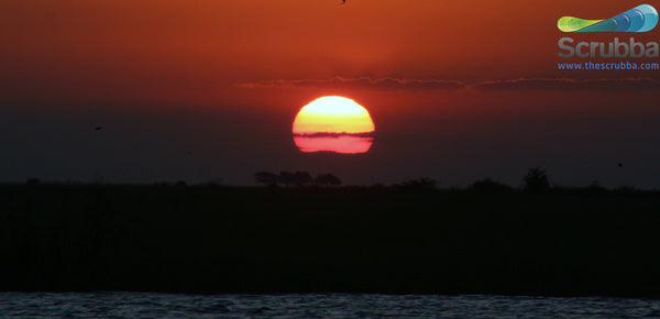 Chobe river sunset - Botswana