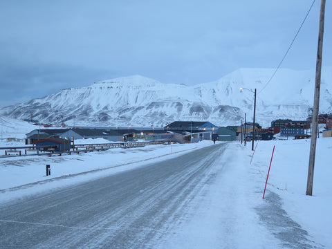 Longyearbyen, Spitsbergen at 78 degrees north