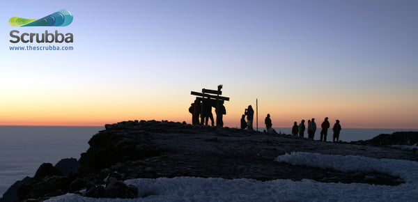Sunrise at the Summit of Mt Kilimanjaro, Tanzania