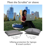 US only: Scrubba Air Sleeve Grey for tablets or laptops