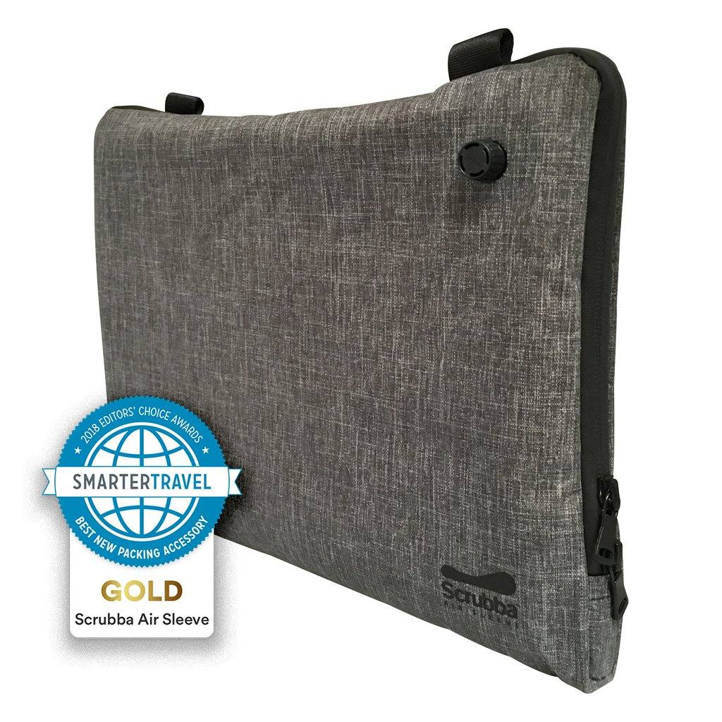Global stock: Scrubba Air Sleeve Grey for tablets or laptops