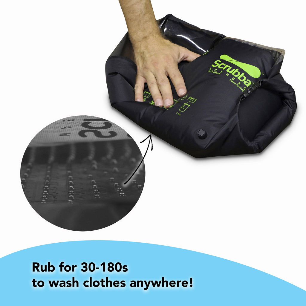 Scrubba wash bag - black