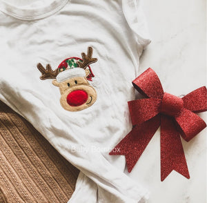 Reindeer Only Embroidered | Christmas