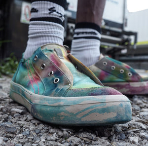 LO-TOP II - PSYCHEDELIC TIE-DYE (made-to-order)