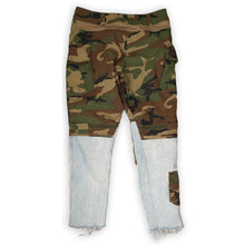 Load image into Gallery viewer, Patched Utility Camo Jeans