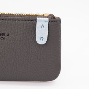Zuri Card Pouch [Signet] - Gray / Light Blue