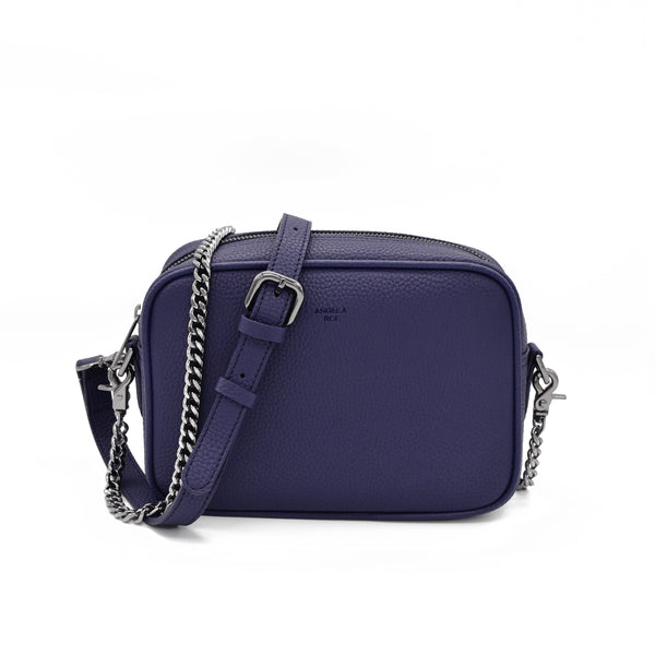 Grace Mini Crossbody [Signet] - Blue