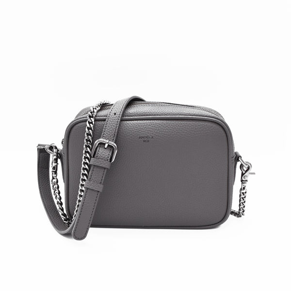 Grace Mini Crossbody [Signet] - Gray