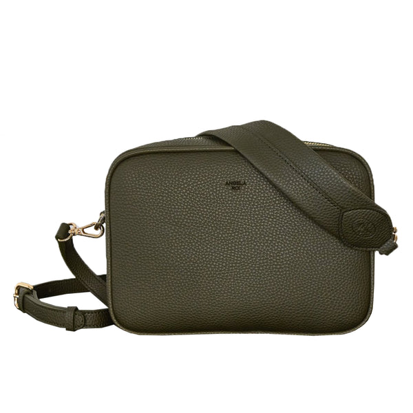 Grace Crossbody [Signet] - Deep Olive [Sample Sale]