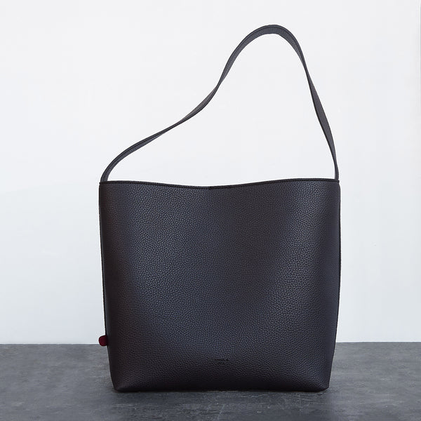 Jane Shoulder Bag [Signet] - Dark Brown